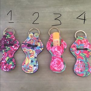 Lilly inspired key chain